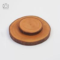 Kayu Mahoni / Tatakan Talenan Kayu Mahoni / Wood Slice