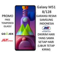 SAMSUNG GALAXY M51 8/128 (RAM 8GB/128GB) 2020 GARANSI RESMI SEGEL BNIB
