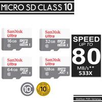 SanDisk Ultra Micro SD Class 10 Super Speed Transfer Upto 80MB/s