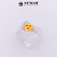 Cincin Emas Emoticon Love Semar Nusantara (RS)