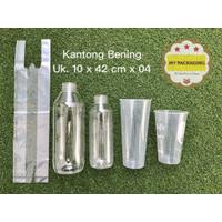 Kantong plastik BENING PE 10 x 42cm - isi 100 pcs (500gr)