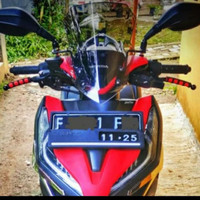 Visor Windshield Honda Vario 150 New Smartkey