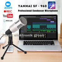Mic yanmai omnidirectional condenser microphone with stand SF-960B