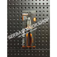 Finder Tang Kombinasi Jepit 8 Inch Karet Hitam Linesman Pliers 8 Inci