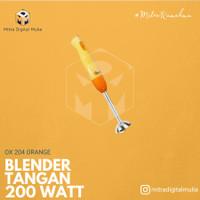 Oxone - OX-204 Hand Blender 200W Orange