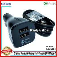 Car Charger Samsung Galaxy Note 8 Original 100% Fast Charging USB C