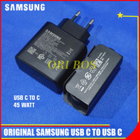 ORIGINAL CHARGER SAMSUNG S20 PLUS ULTRA 45W SUPER FAST CHARGING TYPE C