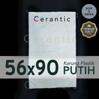 Karung Plastik 56x90 cm Setara Beras 50 kg ( 1000 lembar - 1 bal )