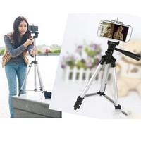 Tripod Weifeng WT-3110A + Holder U Universal for Handphone & Camera