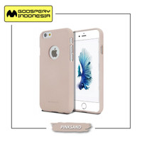 GOOSPERY iPhone 7/8 (Hole) Soft Feeling Jelly case - Pinksand, iPhone 7