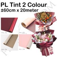 PL Tint 2 Colour 60cm x 20meter -wrapping -bungkus bunga