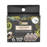Cosy Fresh Pengharum Tempat Sampah Refill 6 Pcs