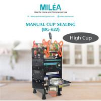 Manual Cup Sealer Milea ( alat press gelas plastik ) // High Cup 22 Oz