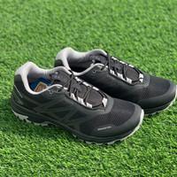 sepatu running original 910 YUZA Hitam abu abu new 2020