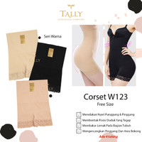 TALLY KORSET pelangsing W123 Shapewear collection Original