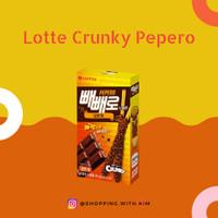 Lotte Crunky Pepero Chocolate Makanan Korea