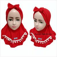 Jilbab Instan Bayi Kaos Super Harian Syiria Pita