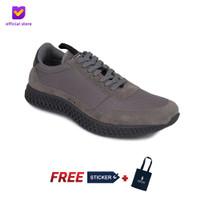 Sepatu Pria Sneakers Footstep Footwear - Zero Grey