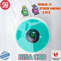 Slime Among Us Bonus Stiker/slime 200cx/slime tofu/tofu slime/Hijau