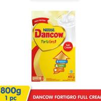 DANCOW Fortigro Susu Full Cream Box 800 gr / 800gr
