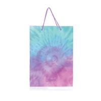 Tas Kertas / Paper Bag Harvest Rainbow Tie Dye - Blue Purple