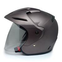 EROE M1 Helm SNI Open Face, Warna FROZEN Solid, Matte Coat - Frozen Brown, L 59-60cm