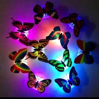LED Kupu-Kupu Led Dekorasi Butterfly Ruangan Kamar Tidur - Random