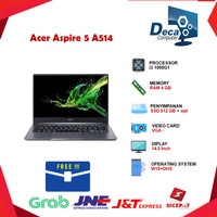 Laptop Acer Aspire 5 A514 i3 1005G1 4GB 512ssd+Opt W10+OHS 14.0