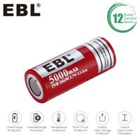 EBL 5000MAH BATTERY 26650 RECHARGEABLE BATTERY BATERAI SATUAN