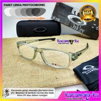 Kacamata minus pria photocromic sporty gratis lensa minus plus