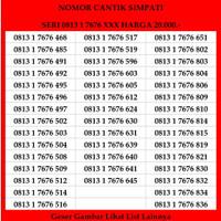 Nomor cantik Simpati Telkomsel 4G LTE Kartu Perdana Prabayar