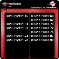 Nomor cantik telkomsel kartu as 4g lte bukan simpati 11 digit xl tri