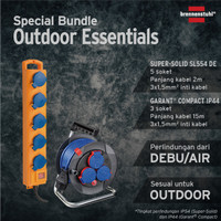 Brennenstuhl Bundle Stop Kontak Outdoor Waterproof- 1159900205/1079850