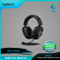 Logitech G PRO X Gaming Headset With Blue Voice Original