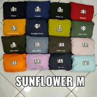 Jas Hujan Sunflower Sun flower Original S, M, L, XL, 2XL, 3XL, 4XL
