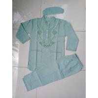 Baju Muslim Setelan Koko Anak umur 4 - 5 - 6 Tahun