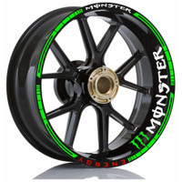 Stiker Velg Motor Wheels Monster Energy All Motorsport Ring 13