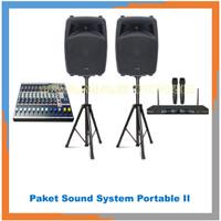 Paket Sound System Portable II