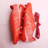 sepatu sepak bola terbaru murah - Merah, 38