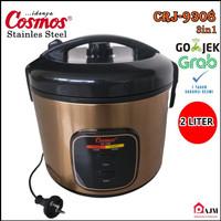 Magic Com COSMOS 2 Liter Stainless Steel CRJ 9308 - CRJ9308 2L 3in1