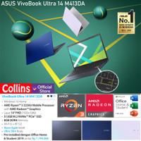 LAPTOP ASUS M413DA - AMD RYZEN 3 3250U DDR4 8GB SSD 512GB 14 FHD W10