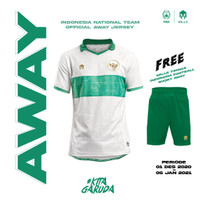 MILLS Timnas Indonesia Jersey Away Player Issue 1018GR White - Putih, XS
