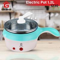 GM Bear Alat Memasak Panci Listrik 1.2L 1230-Cooking Pot Electric 1.2L