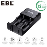 EBL Intellicharger I-Quick Charger 2 Slot For Li-Ion / Ni-MH Battery