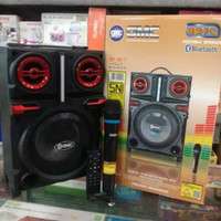 Speaker Portable Bluetooth GMC 897Q mic wireless