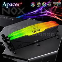 Apacer NOX AURA 2 RGB (2x16) 32GB DDR4 PC28800 3200MHz Dual Kit Memory