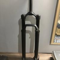 Fork sepeda venom Taper TA Boost travel 100 27.5 / 29