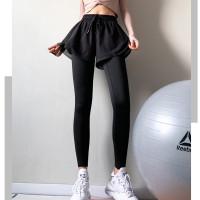 L25 Celana Legging Sport Wanita Panjang Yoga Senam Olahraga Gym Fitnes