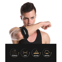 AOLIKES 7949 Elbow Pad Support Straps - Pelindung Siku Wrap Sleeve Gym