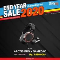 Steelseries Arctis Pro RGB + Game DAC Hi-Res Gaming Headset